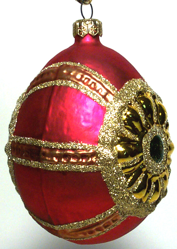 Polish Glass Christmas Ornaments