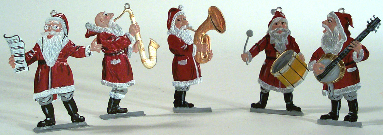schweizer pewter decorations santas angels bunnies ornaments